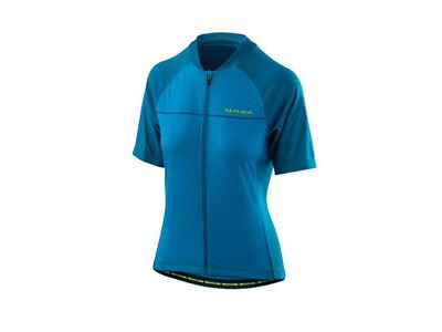 Altura Womens Airstream 2 Short Sleeve Jersey 2018: Vivid Blue/tile Blue