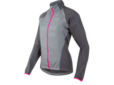 Pearl Izumi Women's, Elite Barrier Convertible Jacket, Monument/Smoked Pearl