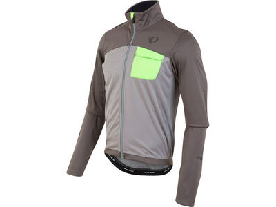 Pearl Izumi Men's, Select Escape Softshell Jacket, Smoked Pearl/Monument