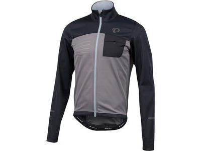 Pearl Izumi Men's SELECT Escape Softshell Jacket Black/Smoked Pearl